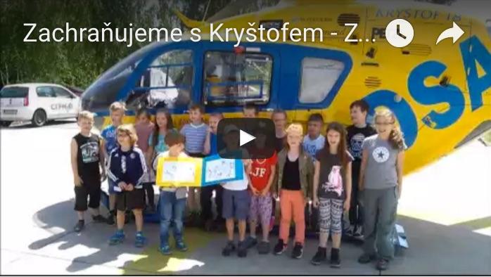 Soutěž Zachraňujeme s Kryštofem  | ZŠ Doctrina Liberec
